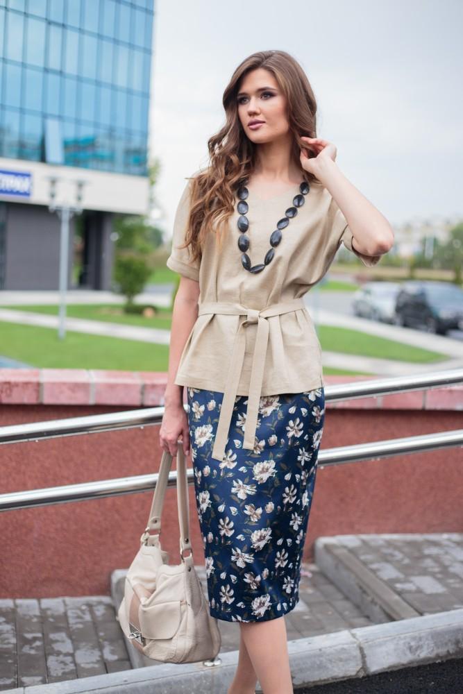 Одежда льняного цвета
