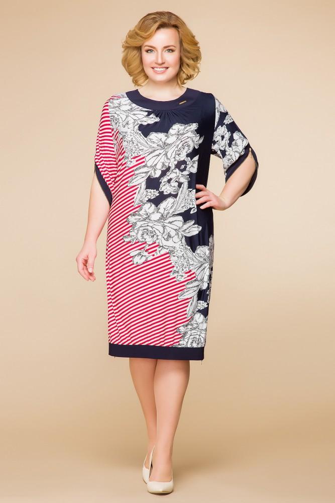 Прямое женское платье